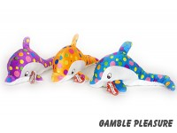 Plush dolphin with bubbles from the sea 33cm