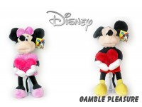 "Disney Minnie Mouse ""Hart"" Pluche 35cm"