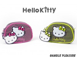 Fluorescent Hello Kitty tasje