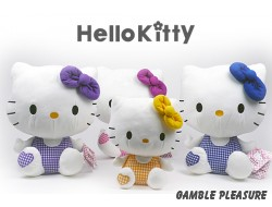 Hello Kitty Gingham Collectie 35cm